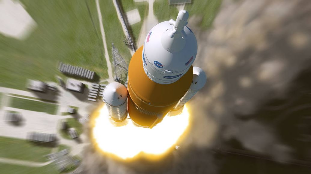 SLS Rocket System (Photo: NASA/MSFC)