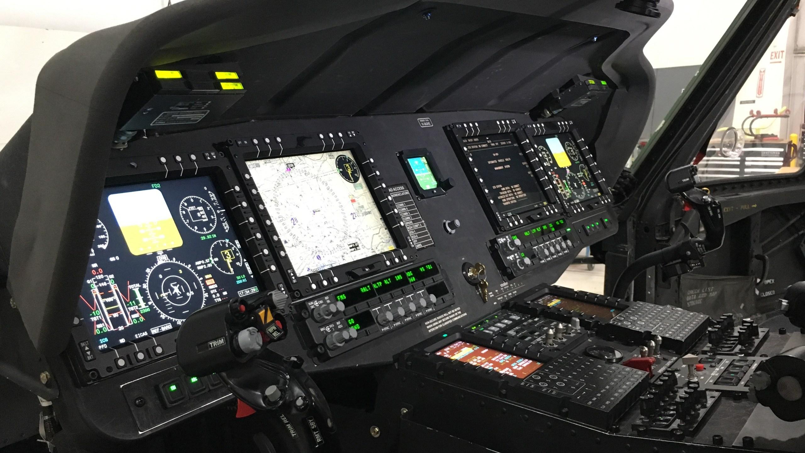 Digital UH-60 Victor cockpit
