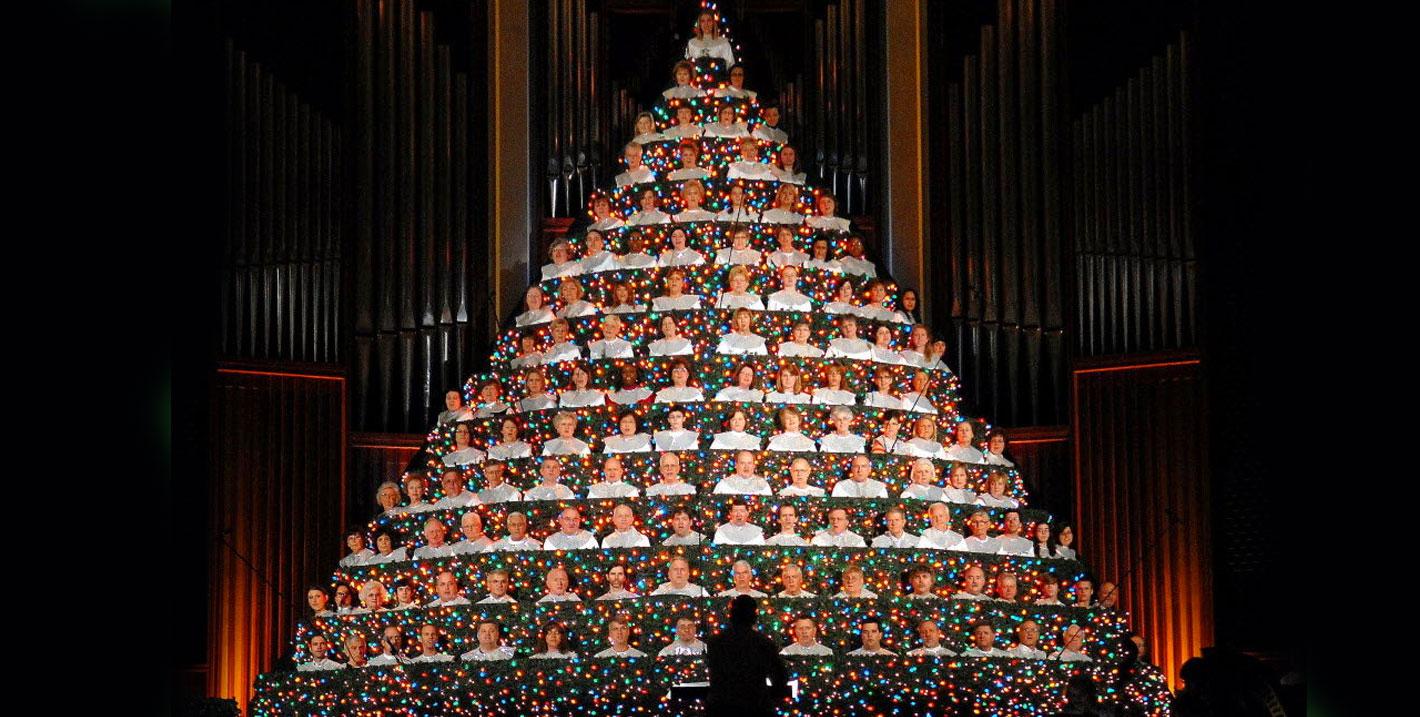 "First Baptist Huntsville Al Living Christmas Tree 2020 First Baptist Church presents ""The Living Christmas Tree""   WHNT.com"
