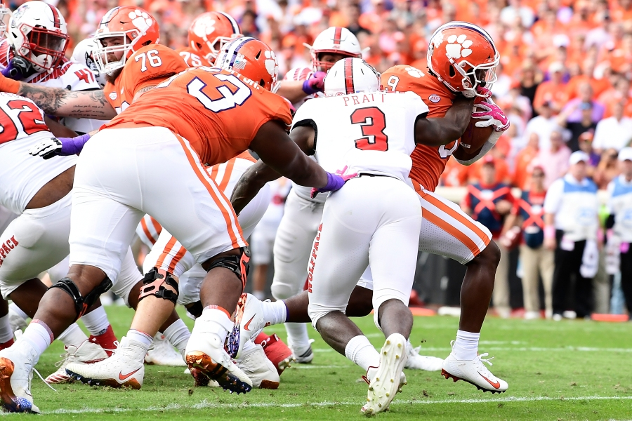 Ap Top 25 Clemson Back To 2 App State Ranked For 1st Time Whnt Com