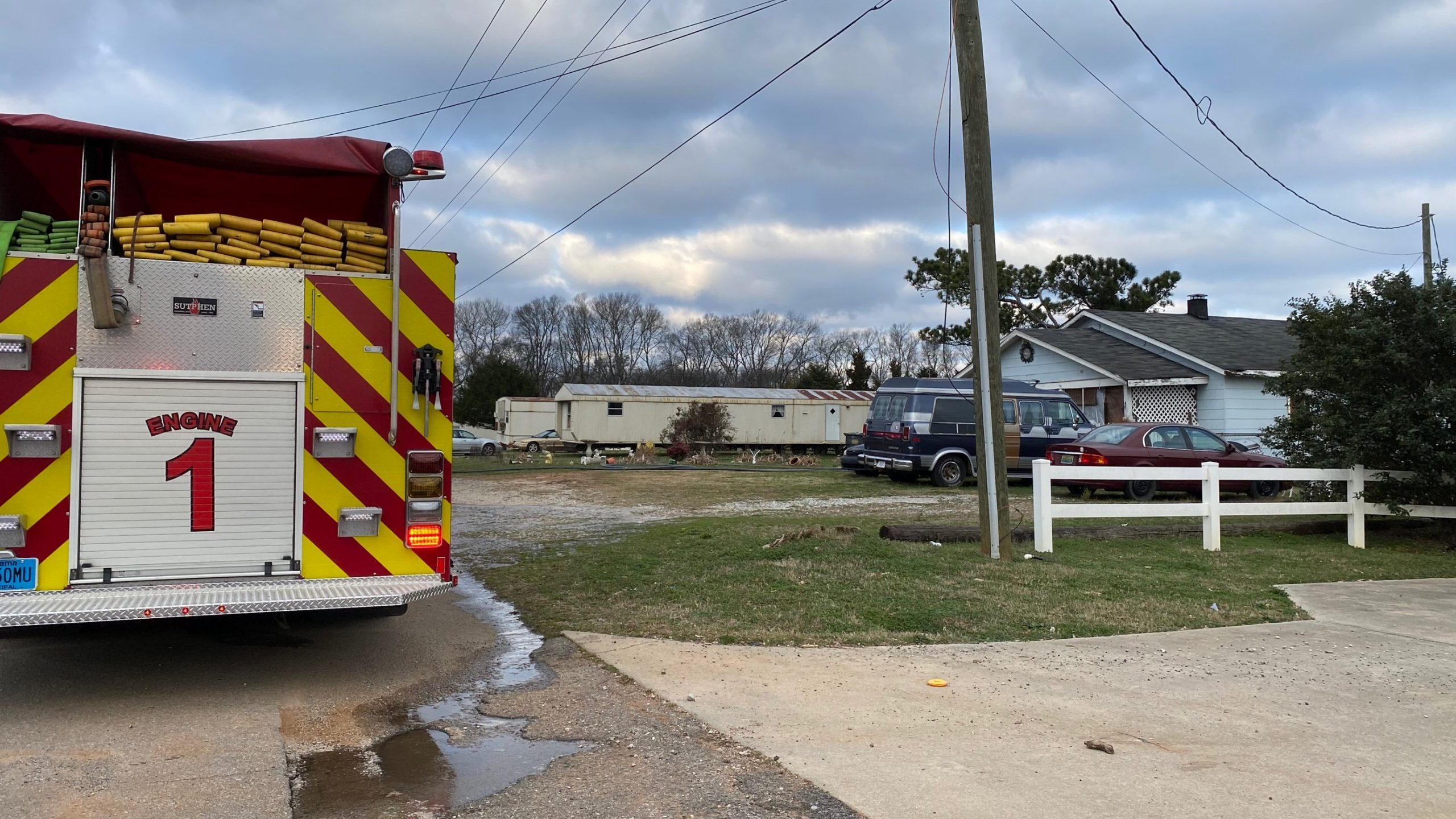 Decatur Fire and Rescue responded to a structure fire Tuesday morning.