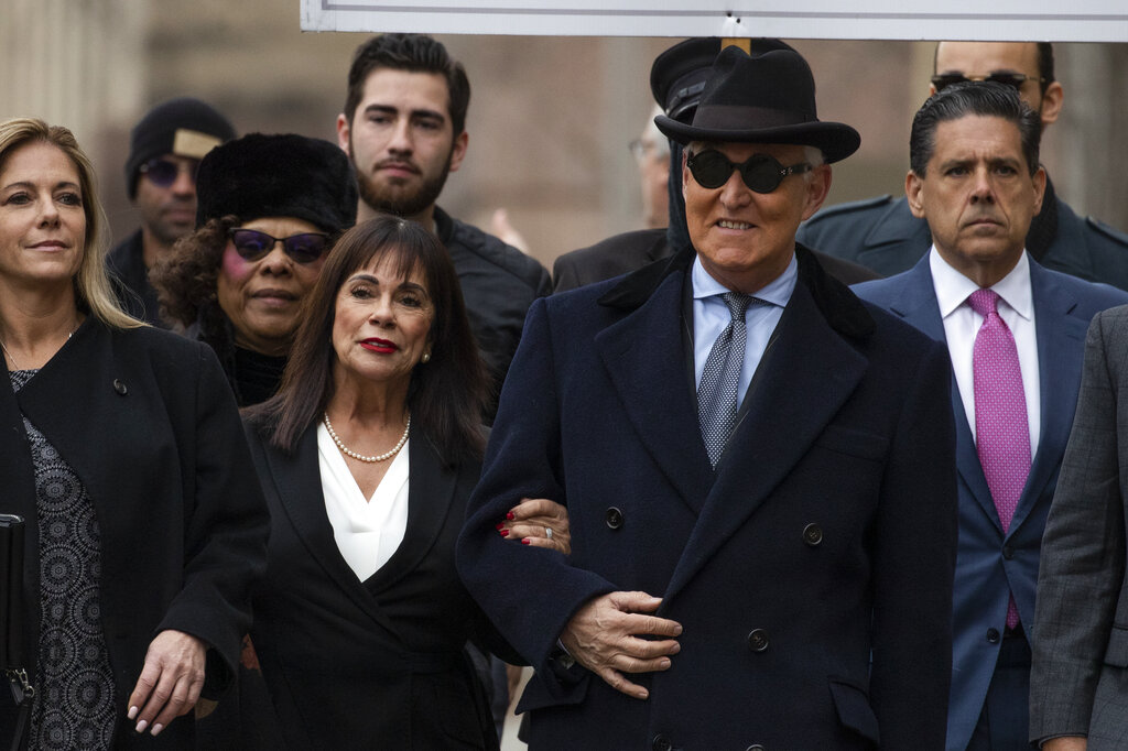Roger Stone Sentenced To 40 Months In Prison Whnt Com