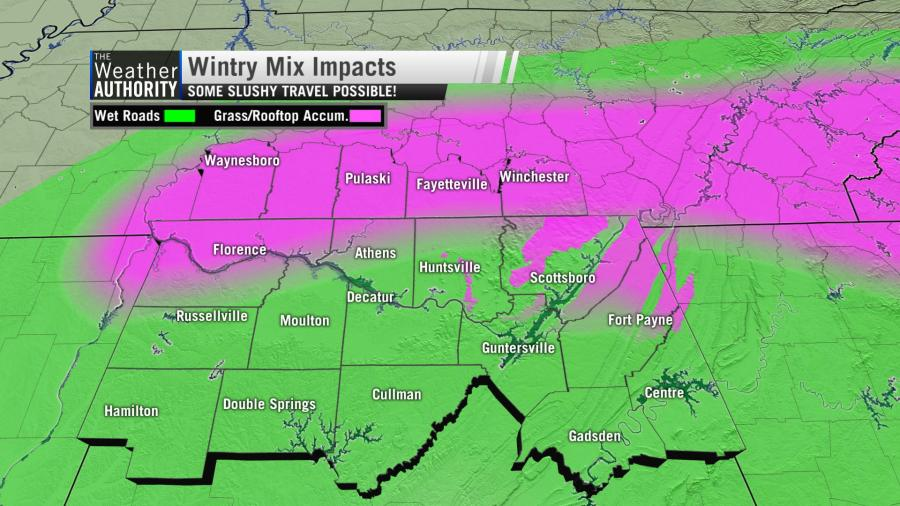 Rain and some snow likely on Thursday