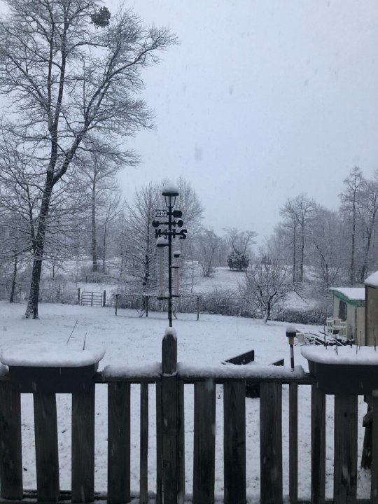 Maxine Dover picked up some accumulation in Skyline.