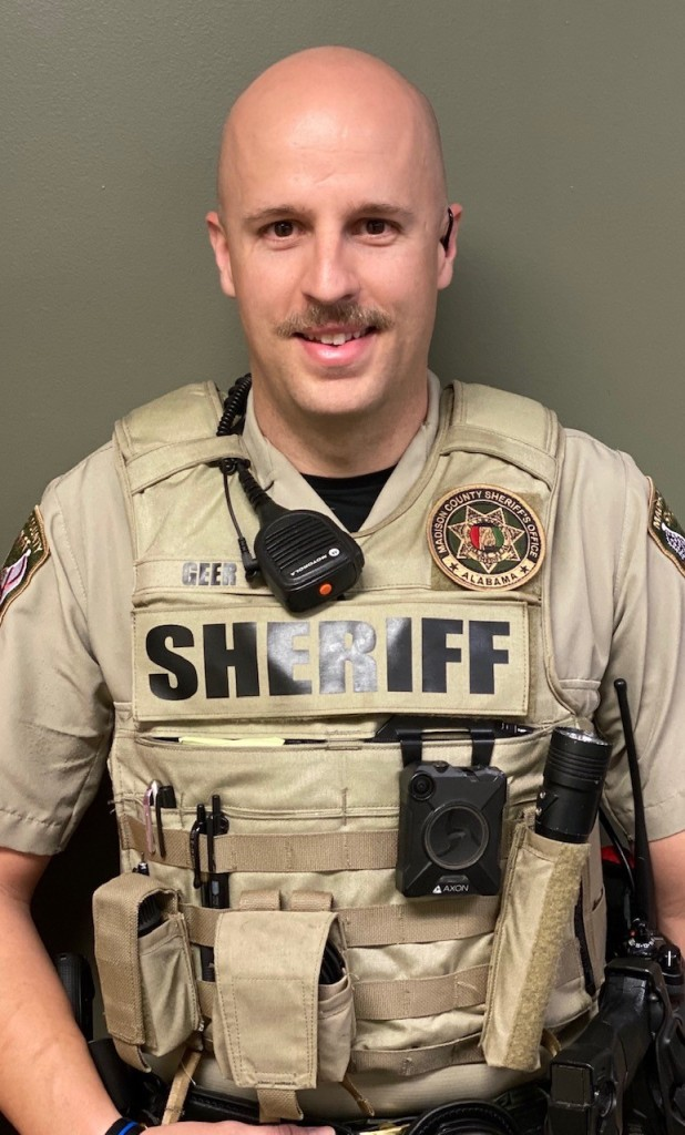 Madison County Sheriff's Office names Jesse Greer as 'Deputy of the Year'