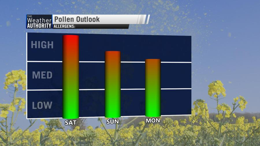 A Dry Saturday: time for Spring planting?