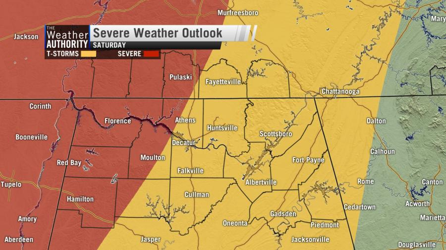 A Look Ahead To This Weekend's Storms