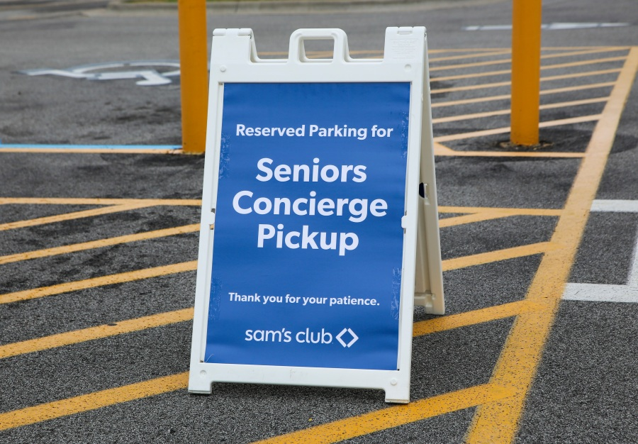 Sam's Club to have special shopping hours and concierge service for seniors and at-risk customers