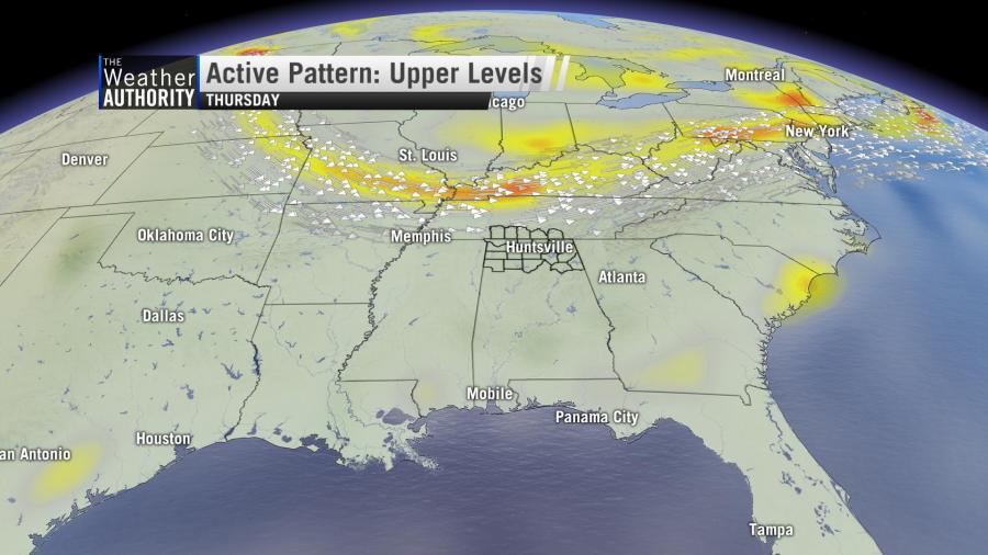 Pattern Will Remain Active Through Normal Peak of Severe Weather Season