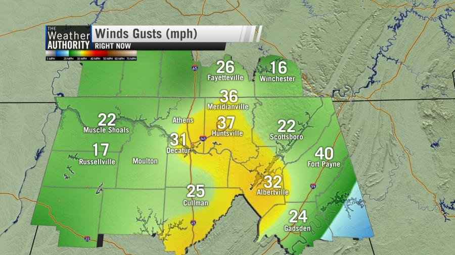 Windy Start To Thursday – Severe Storms Possible This Afternoon