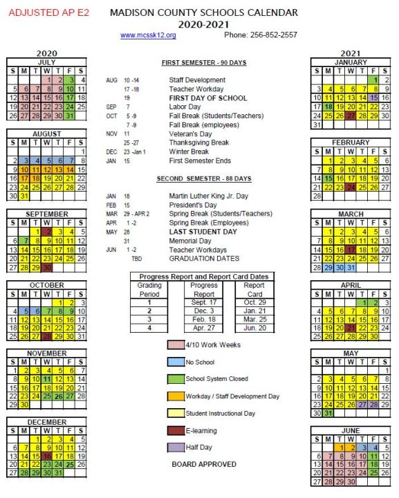 Huntsville City School Calendar 2021-22 Madison County Schools proposes new calendar with later start date