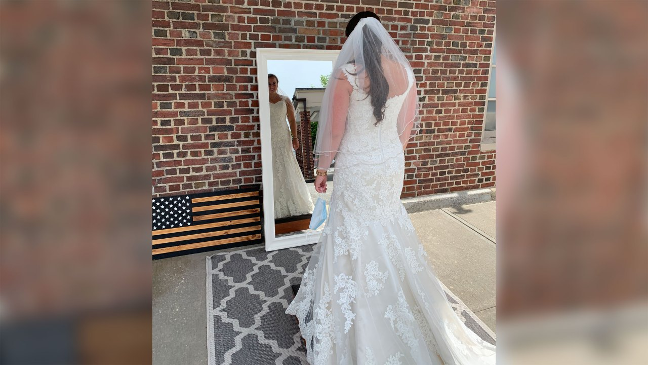 This group is donating wedding gowns to health care workers on the ...