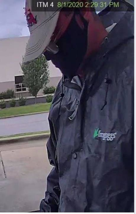 Florence Police searching for man suspected of stealing roughly $2,000 from ATM