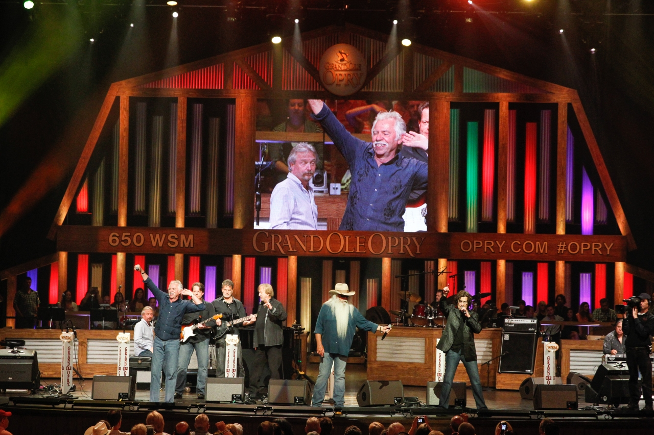 Grand Ole Opry through the years