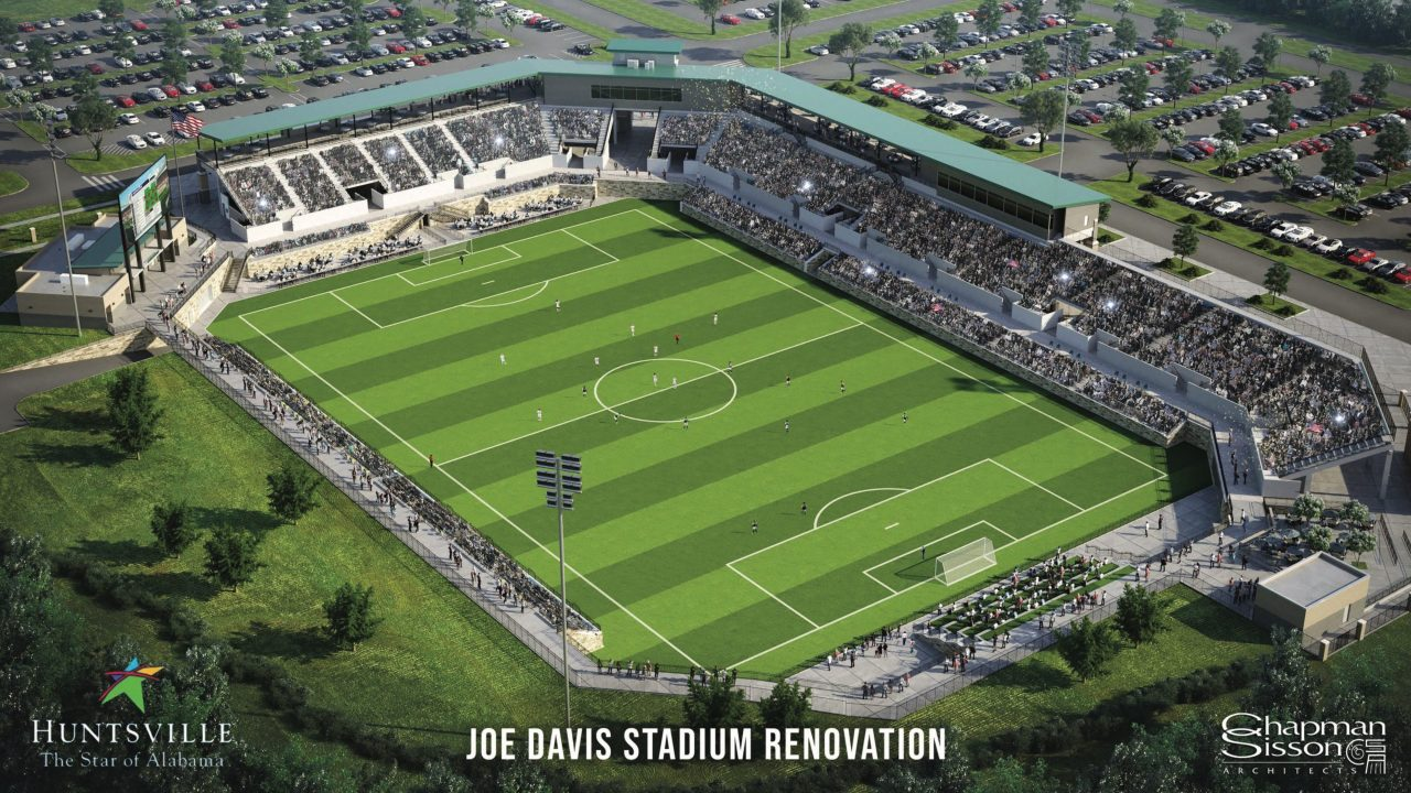 Joe Davis Stadium expected to re-open in fall 2022 as multi-sport facility