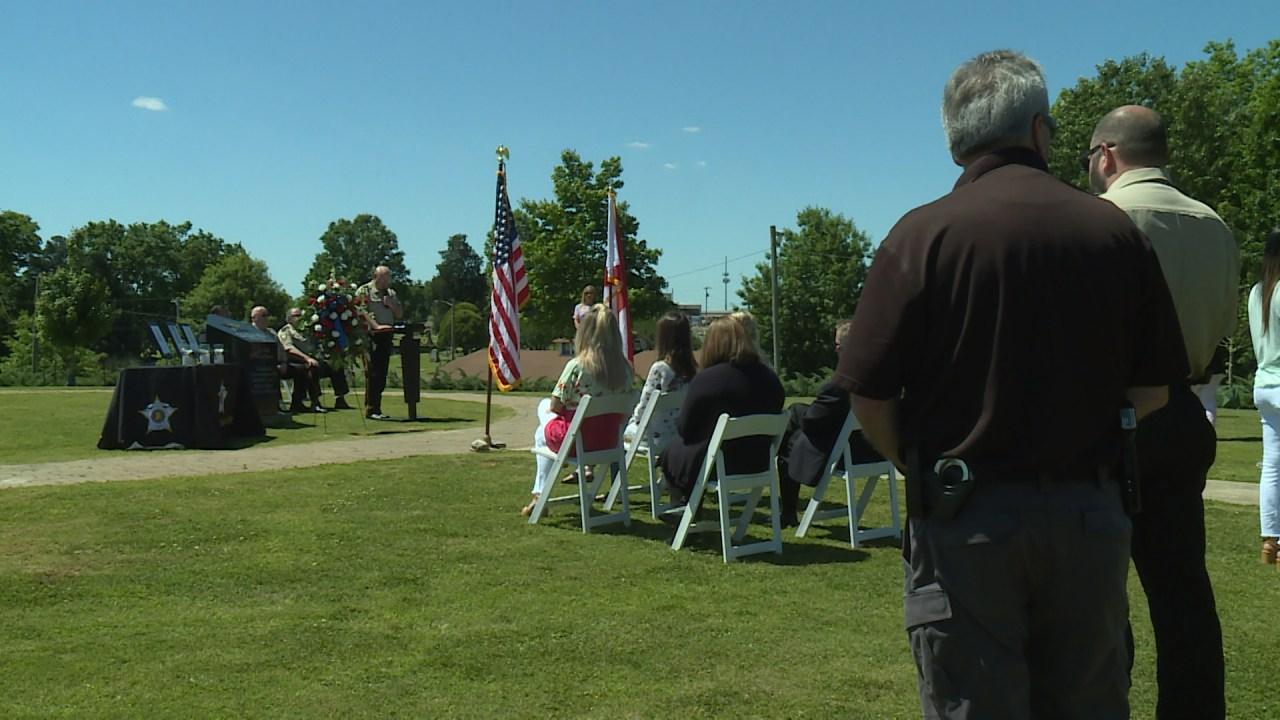 Memorial ceremony held for fallen Lauderdale County deputies