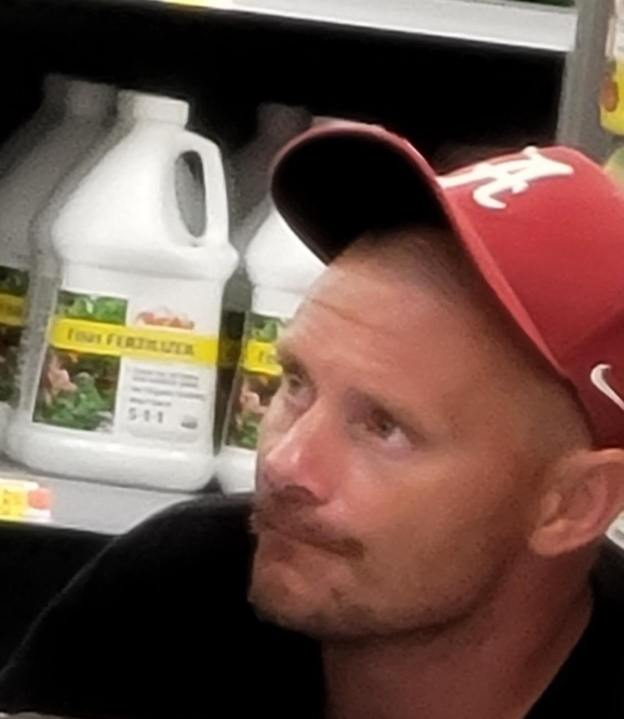 The Madison County Sheriff's Office is trying to identify a man who stole property from a Madison County Walmart.