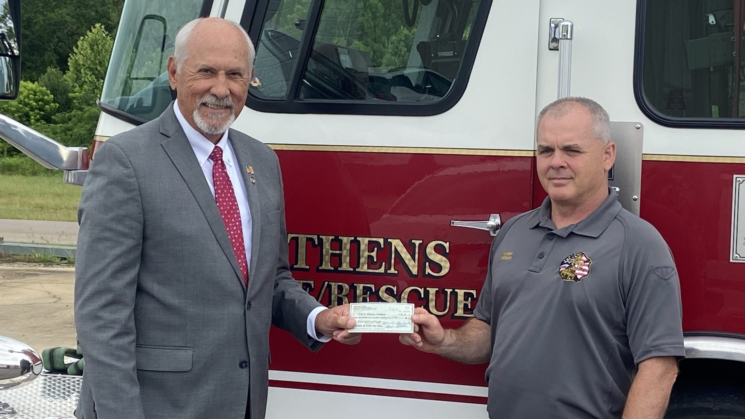 Athens Fire Department gets grant for new defibrillators