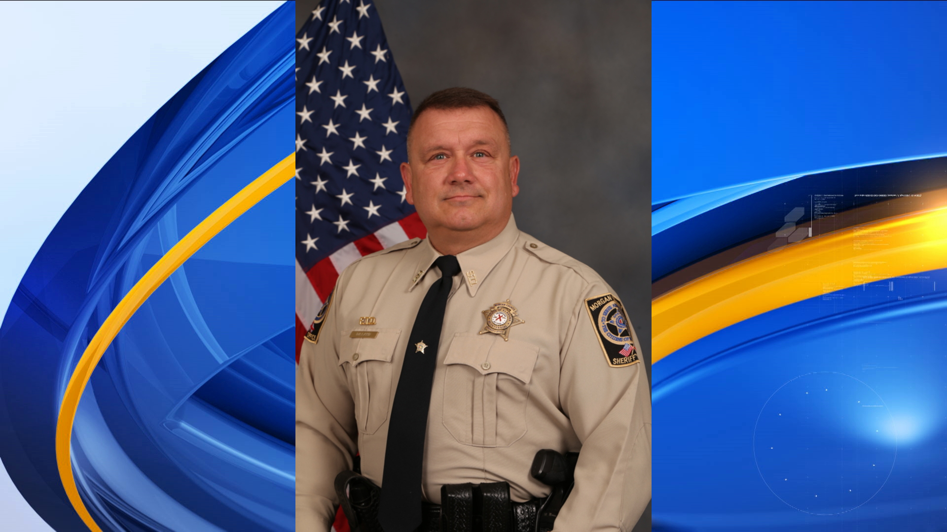 Just one year shy of retirement, Morgan County Sheriff's Office Sgt. Chris Dillard has been diagnosed with ALS. (Photo courtesy Morgan County Sheriff's Office)