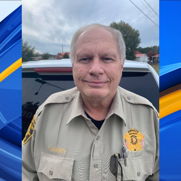 The DeKalb County Sheriff's Office said Deputy Gary Bowen, who started his career with the Collinsville Police Department in 1979, died Tuesday.