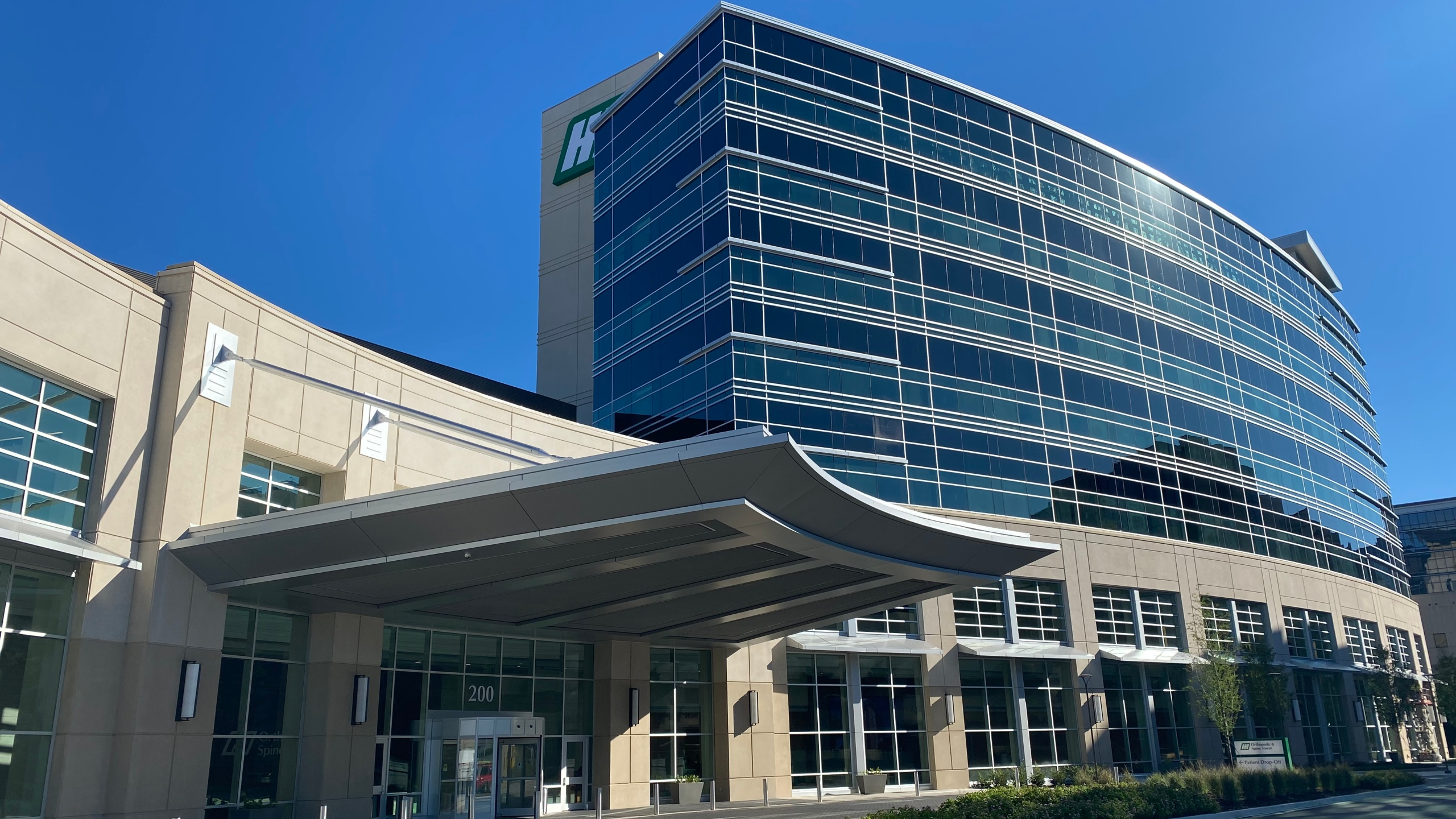The Huntsville Hospital Spine and Orthopedic Tower quietly opened in September 2021.