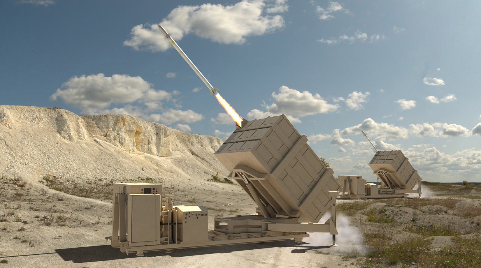 Enduring Shield is designed to engage not only enemy cruise missiles but enemy drones as well.