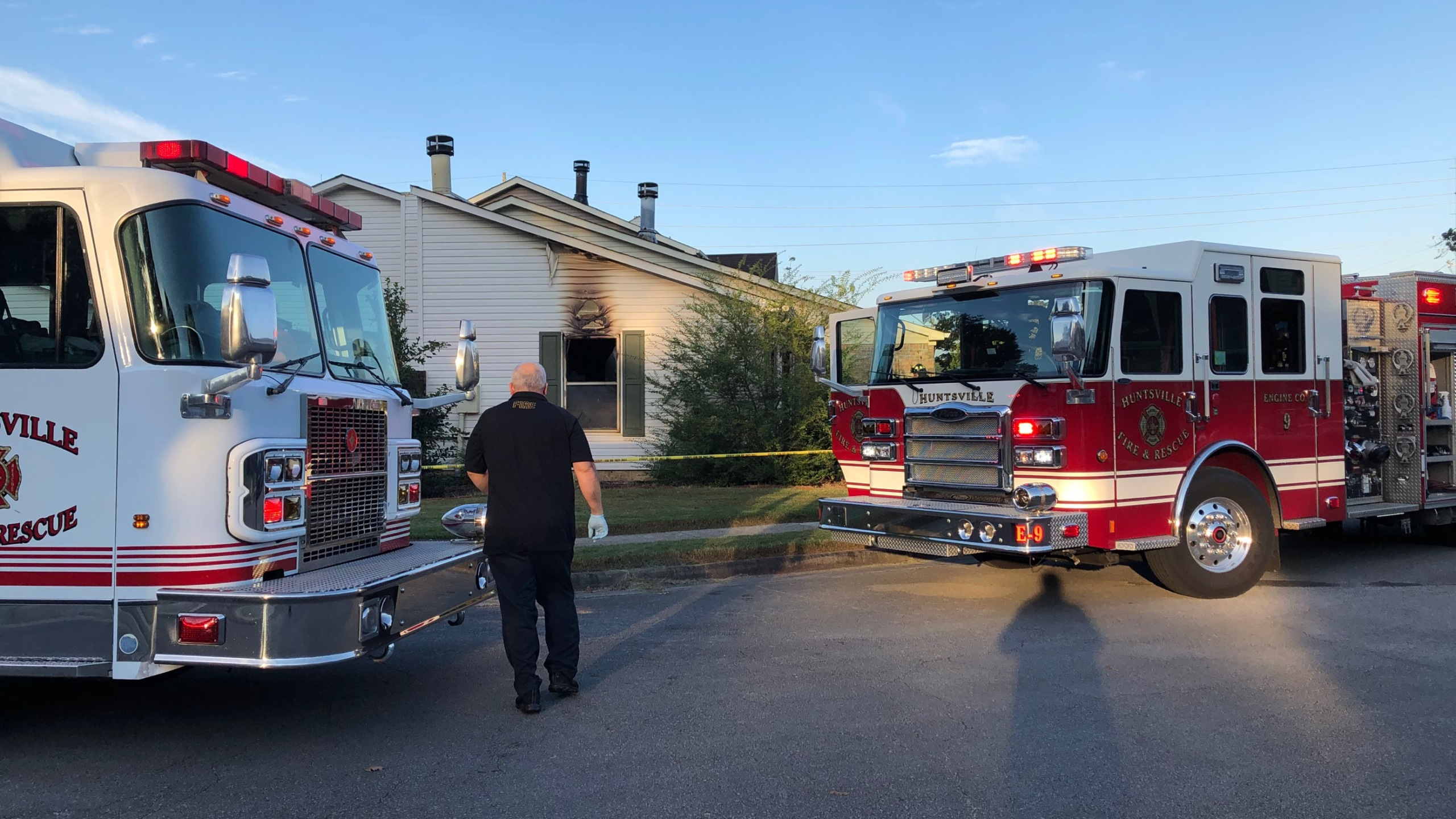 A house fire has claimed the life of a South Huntsville resident early Tuesday morning.