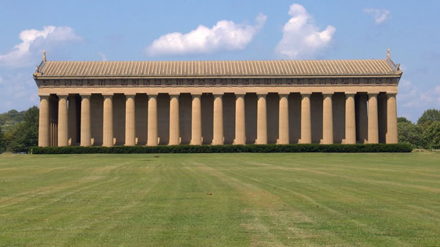Why Nashville has a replica of the Greek Parthenon