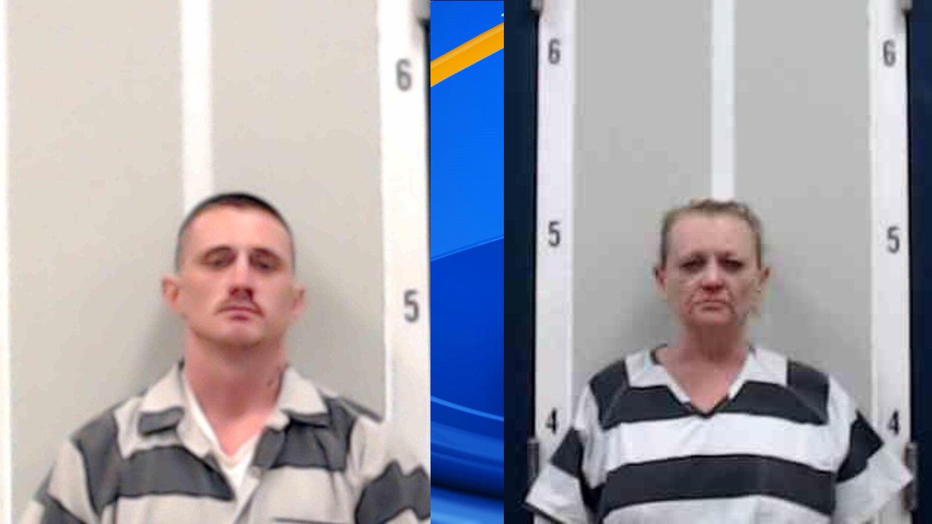 Ethan Rogers ran away and Karen Henderson was arrested after authorities searched a Fort Payne home Tuesday night.