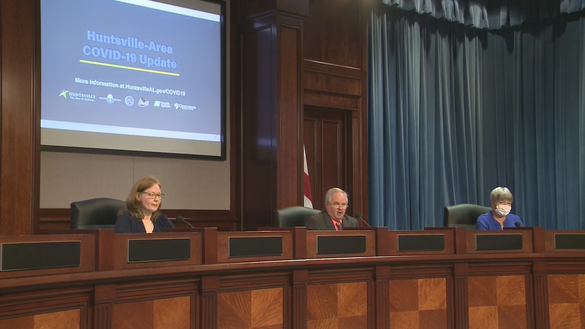 Officials gave an update on COVID-19 in Madison County, as well as information on federal vaccine mandates Wednesday afternoon.